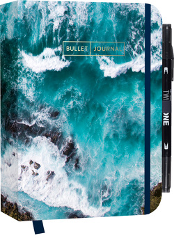 """Bullet Journal """"Sound of the Sea"""" mit original Tombow TwinTone Dual-Tip Marker 33 black"""