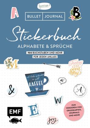 Bullet Journal – Stickerbuch Alphabete und Sprüche: 1000 Buchstaben und mehr für jeden Anlass von Edition Michael Fischer