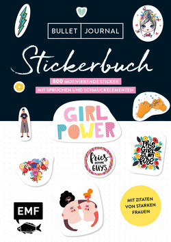 Bullet Journal – Stickerbuch: Girlpower