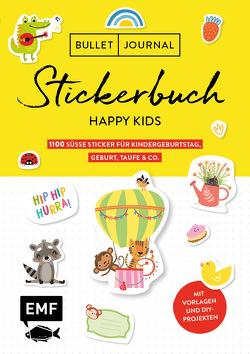 Bullet Journal – Stickerbuch Happy Kids: 700 süße Sticker für Kindergeburtstag, Geburt, Taufe & Co.