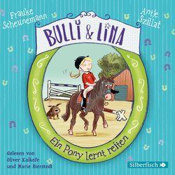 Bulli & Lina 2: Ein Pony lernt reiten von Bierstedt,  Marie, Kalkofe,  Oliver, Scheunemann,  Frauke, Szillat,  Antje