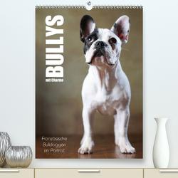 Bullys mit Charme – Französische Bulldoggen im Portrait (Premium, hochwertiger DIN A2 Wandkalender 2020, Kunstdruck in Hochglanz) von Behr,  Jana