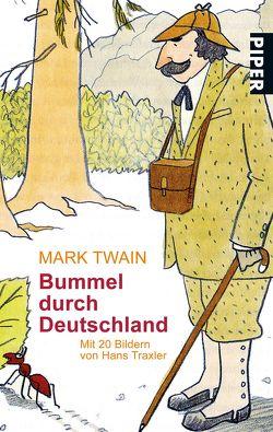 Bummel durch Deutschland von Himmel,  Gustav Adolf, Mark Twain, Traxler,  Hans
