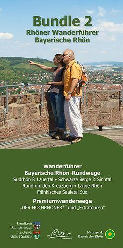 Bundel 2 Rhöner Wanderführer Bayerische Rhön von Dehler,  Stefan