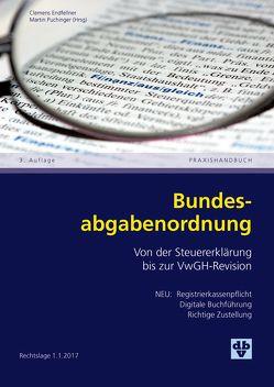 Bundesabgabenordnung von Endfellner,  Clemens, Puchinger,  Martin