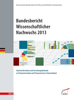 Bundesbericht Wissenschaftlicher Nachwuchs 2013 von Nachwuchs,  Konsortium Bundesbericht wissenschaftlicher