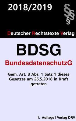 Bundesdatenschutzgesetz (BDSG) von DRV,  Redaktion