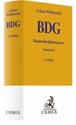 Bundesdisziplinargesetz von Urban,  Richard, Wittkowski,  Bernd