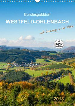 Bundesgolddorf Westfeld-Ohlenbach (Wandkalender 2018 DIN A3 hoch) von Bücker,  Heidi