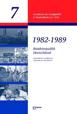 Bundesrepublik 1982 – 1989 von Schmidt,  Manfred G.