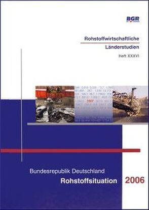 Bundesrepublik Deutschland, Rohstoffsituation 2006