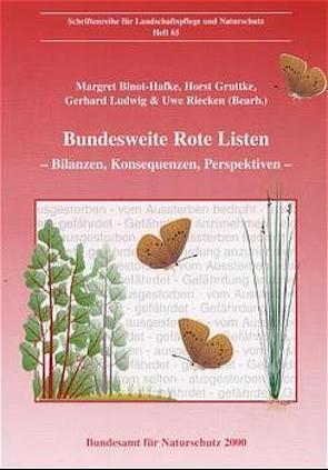 Bundesweite Rote Listen von Binot-Hafke,  Margret, Gruttke,  Horst, Ludwig,  Gerhard, Riecken,  Uwe