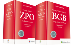 Bundle BGB Kommentar 16. Auflage und ZPO Kommentar 13. Auflage von Gehrlein,  Markus, Prütting,  Hanns, Wegen,  Gerhard, Weinreich,  Gerd