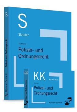 Bundle Wüstenbecker, Skript Polizei- und Ordnungsrecht + Karteikarten Polizei- und Ordnungsrecht