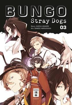 Bungo Stray Dogs 03 von Asagiri,  Kafka, Gerstheimer,  Yvonne, Harukawa,  Sango