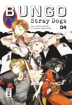 Bungo Stray Dogs 04 von Asagiri,  Kafka, Harukawa,  Sango, Suzuki,  Cordelia