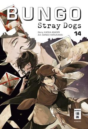 Bungo Stray Dogs 14 von Asagiri,  Kafka, Harukawa,  Sango, Suzuki,  Cordelia