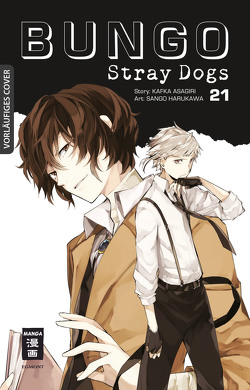 Bungo Stray Dogs 21 von Asagiri,  Kafka, Harukawa,  Sango, Suzuki,  Cordelia