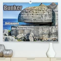 Bunker Zeitzeugen der Geschichte (Premium, hochwertiger DIN A2 Wandkalender 2020, Kunstdruck in Hochglanz) von Media,  Hoschie