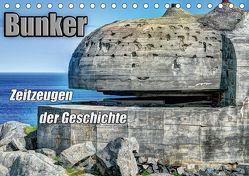 Bunker Zeitzeugen der Geschichte (Tischkalender 2018 DIN A5 quer) von Media,  Hoschie