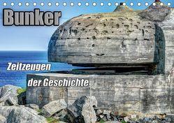 Bunker Zeitzeugen der Geschichte (Tischkalender 2019 DIN A5 quer) von Media,  Hoschie