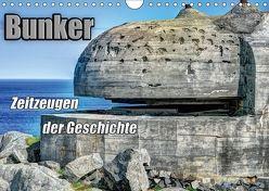Bunker Zeitzeugen der Geschichte (Wandkalender 2018 DIN A4 quer) von Media,  Hoschie
