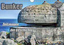 Bunker Zeitzeugen der Geschichte (Wandkalender 2019 DIN A4 quer) von Media,  Hoschie