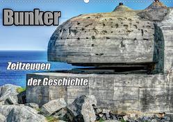 Bunker Zeitzeugen der Geschichte (Wandkalender 2020 DIN A2 quer) von Media,  Hoschie