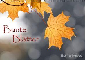 Bunte Blätter (Wandkalender 2018 DIN A3 quer) von Herzog,  Thomas, www.bild-erzaehler.com
