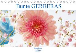 Bunte Gerberas (Tischkalender 2019 DIN A5 quer) von Kruse,  Gisela