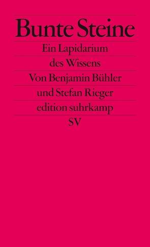 Bunte Steine von Bühler,  Benjamin, Rieger,  Stefan