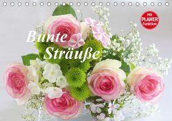 Bunte Sträuße (Tischkalender 2019 DIN A5 quer) von Kruse,  Gisela