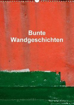 Bunte Wandgeschichten (Wandkalender 2018 DIN A3 hoch) von Honig,  Christoph