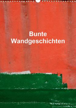 Bunte Wandgeschichten (Wandkalender 2021 DIN A3 hoch) von Honig,  Christoph