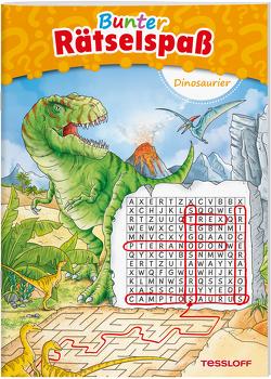 Bunter Rätselspaß Dinosaurier ab 7 Jahren von Lohr,  Stefan