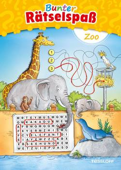 Bunter Rätselspaß Zoo ab 7 Jahren von Lohr,  Stefan