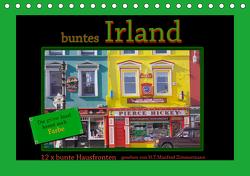 buntes Irland (Tischkalender 2021 DIN A5 quer) von Zimmermann,  H.T.Manfred