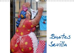 Buntes Sevilla (Wandkalender 2020 DIN A3 quer) von Kruse,  Gisela