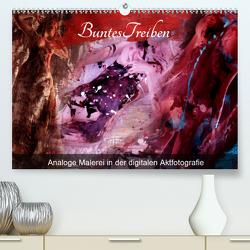 Buntes Treiben – Analoge Malerei in der digitalen Aktfotografie (Premium, hochwertiger DIN A2 Wandkalender 2020, Kunstdruck in Hochglanz) von Weis,  Stefan