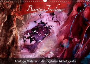 Buntes Treiben – Analoge Malerei in der digitalen Aktfotografie (Wandkalender 2020 DIN A3 quer) von Weis,  Stefan