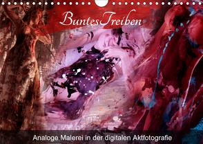 Buntes Treiben – Analoge Malerei in der digitalen Aktfotografie (Wandkalender 2020 DIN A4 quer) von Weis,  Stefan