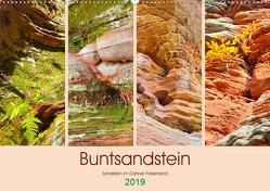 Buntsandstein – Sandstein im Dahner Felsenland (Wandkalender 2019 DIN A2 quer) von LianeM