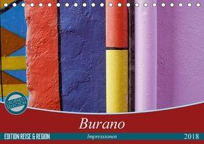 Burano-Impressionen (Tischkalender 2018 DIN A5 quer) von Kästner,  Gerwin