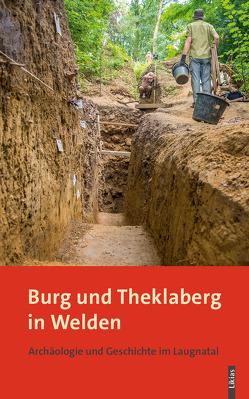 Burg und Theklaberg in Welden von Mahnkopf,  Gisela, Markt Welden, Päffgen,  Bernd