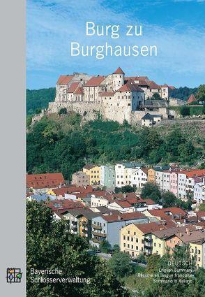 Burg zu Burghausen von Jung,  Kathrin, Langer,  Brigitte