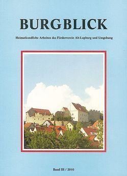Burgblick Band III/2010 von Koller,  Josef, Luderböck,  Xaver, Maier,  Hans-Jakob, Meier,  Johann, Ossadnik,  Helmut, Pfaff,  Klaus, Walter,  Georg