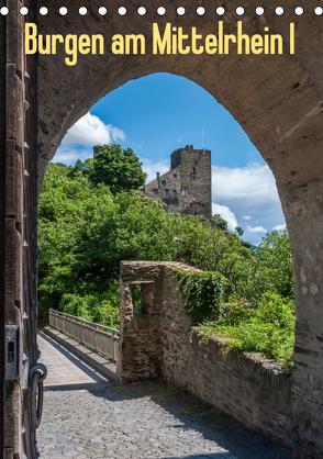 Burgen am Mittelrhein I (Tischkalender 2020 DIN A5 hoch) von Hess,  Erhard