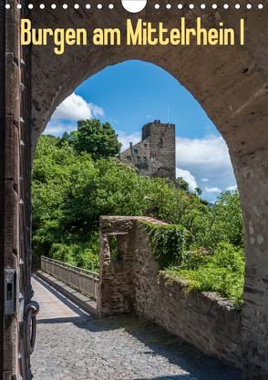 Burgen am Mittelrhein I (Wandkalender 2020 DIN A4 hoch) von Hess,  Erhard