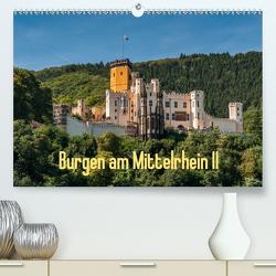 Burgen am Mittelrhein II (Premium, hochwertiger DIN A2 Wandkalender 2020, Kunstdruck in Hochglanz) von Hess,  Erhard