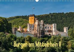 Burgen am Mittelrhein II (Wandkalender 2020 DIN A3 quer) von Hess,  Erhard